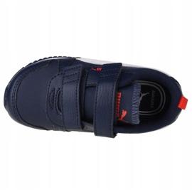 Puma R78 Sl V Bebês 374430 03 preto azul marinho 2