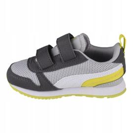 Sapatos Puma R78 V Infants 373618 16 vermelho 1