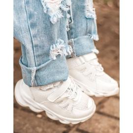 Tênis Infantil Com Solado Iluminado Led White So Cool! branco 8