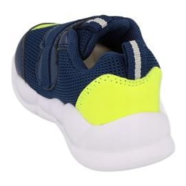 Calçados infantis Befado 516P094 azul marinho verde 3