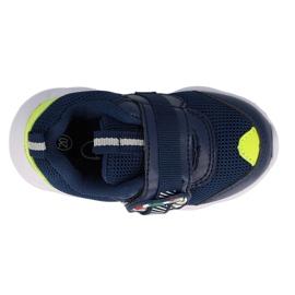 Calçados infantis Befado 516P094 azul marinho verde 1