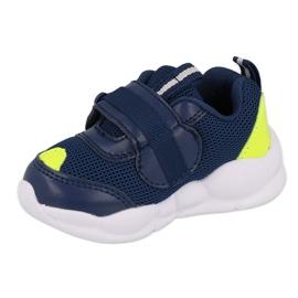 Calçados infantis Befado 516P094 azul marinho verde 2