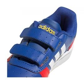 Tênis Adidas Hoops 2.0 C Jr FY9443 preto azul 3