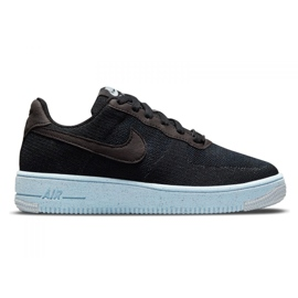 Sapato Nike Air Force 1 Crater Flyknit Jr DH3375-001 preto 3