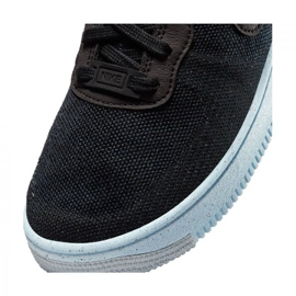 Sapato Nike Air Force 1 Crater Flyknit Jr DH3375-001 preto 5