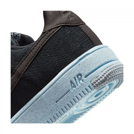 Sapato Nike Air Force 1 Crater Flyknit Jr DH3375-001 preto 6