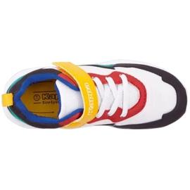 Sapatos Kappa Durban Pr K 260894PRK 1017 branco azul 2