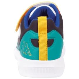Sapatos Kappa Durban Pr K 260894PRK 1017 branco azul 5