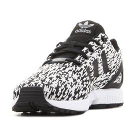Sapatos Adidas Zx Flux Jr BY9829 preto 4