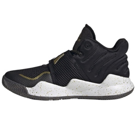Sapatos adidas Deep Threat Primeblue C Jr GZ0111 branco preto 1