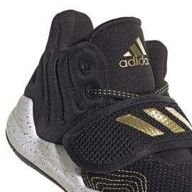 Sapatos adidas Deep Threat Primeblue C Jr GZ0111 branco preto 3