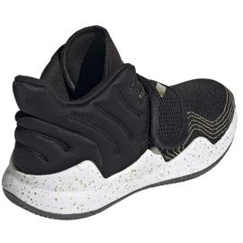 Sapatos adidas Deep Threat Primeblue C Jr GZ0111 branco preto 5