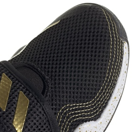 Sapatos adidas Deep Threat Primeblue C Jr GZ0111 branco preto 6