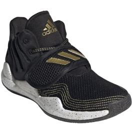 Sapatos adidas Deep Threat Primeblue C Jr GZ0111 branco preto 7
