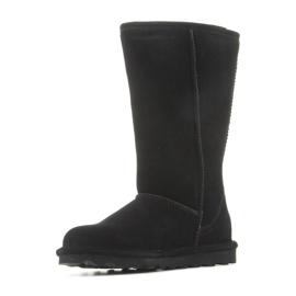 Sapatos BearPaw Elle Tall Jr 1963W-011 pretos azul marinho 5