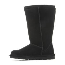 Sapatos BearPaw Elle Tall Jr 1963W-011 pretos azul marinho 6
