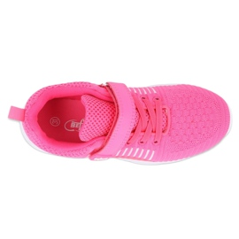 Calçados infantis Befado 516Y058 branco rosa 3
