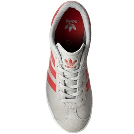 Sapatos Adidas Gazelle J Jr BB2505 cinza 2
