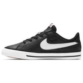 Nike Court Legacy Shoe Jr DA5381 002 preto azul marinho 1