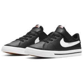 Nike Court Legacy Shoe Jr DA5381 002 preto azul marinho 2