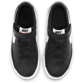 Nike Court Legacy Shoe Jr DA5381 002 preto azul marinho 4