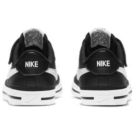 Nike Court Legacy Shoe Jr DA5381 002 preto azul marinho 5
