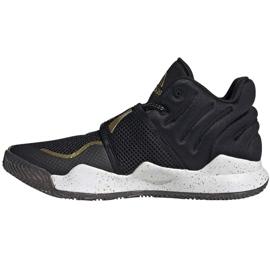 Sapatos Adidas Deep Threat Primeblue Jr S29014 preto azul 1