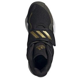Sapatos Adidas Deep Threat Primeblue Jr S29014 preto azul 2