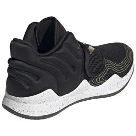 Sapatos Adidas Deep Threat Primeblue Jr S29014 preto azul 4