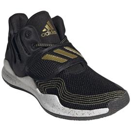 Sapatos Adidas Deep Threat Primeblue Jr S29014 preto azul 5