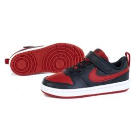 Sapatos Nike Court Borough Low 2 (PSV) Jr BQ5451-007 preto azul 1