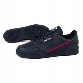 Sapatos Adidas Continental Jr F99786 preto 1