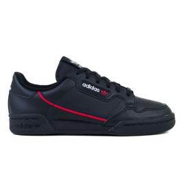 Sapatos Adidas Continental Jr F99786 preto 2
