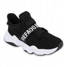 Sapatos juvenis Befado 516Q066 preto 1