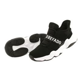 Sapatos juvenis Befado 516Q066 preto 3