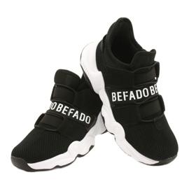 Sapatos juvenis Befado 516Q066 preto 4