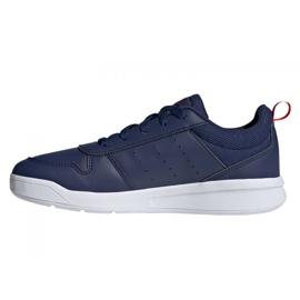 Sapatos Adidas Tensaur Jr S24035 azul marinho 1