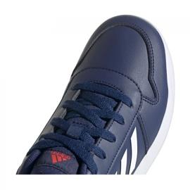 Sapatos Adidas Tensaur Jr S24035 azul marinho 3