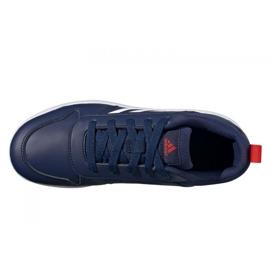 Sapatos Adidas Tensaur Jr S24035 azul marinho 4