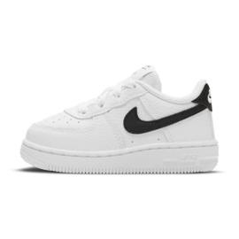 Nike Force 1 Inf Jr CZ1691-100 branco preto 1