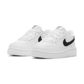 Nike Force 1 Inf Jr CZ1691-100 branco preto 2