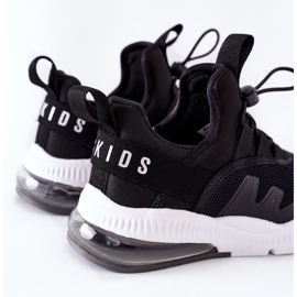 Tênis infantil esportivo ABCKIDS preto 4