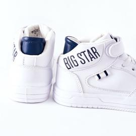 Calçados infantis esportivos Big Star II374034 Branco e azul marinho 1