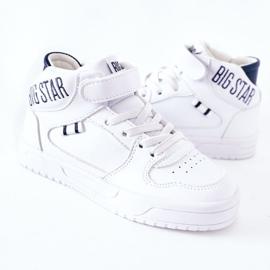 Calçados infantis esportivos Big Star II374034 Branco e azul marinho 3