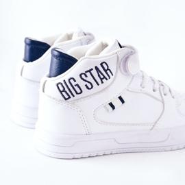 Calçados infantis esportivos Big Star II374034 Branco e azul marinho 6