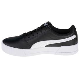 Sapatos Puma Carina L Jr 370677-14 preto 1
