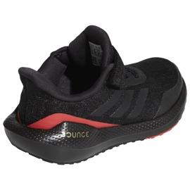 Tênis de corrida Adidas EQ21 Run El K Jr GZ5399 preto 3