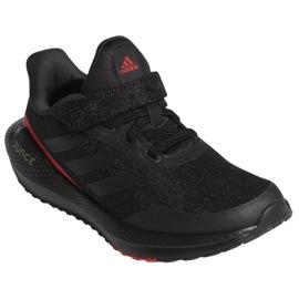 Tênis de corrida Adidas EQ21 Run El K Jr GZ5399 preto 4