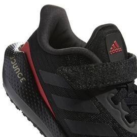 Tênis de corrida Adidas EQ21 Run El K Jr GZ5399 preto 6