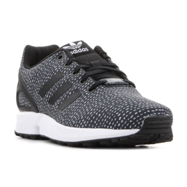 Sapatos Adidas Zx Flux Jr BY9828 preto 2